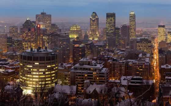 montreal, канада, город Фон № 40146 разрешение 1680x1050