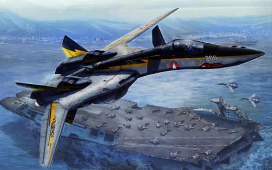 истребители, авианосец, concept, самолёт, будущее, истребитель, авиация, самолеты, смешные, будущего,