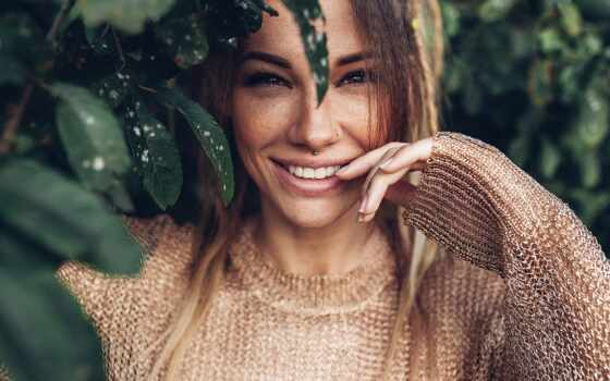 девушка, улыбка, глаз, смотреть, рим, отшелушивающий, mom, хороший, necker