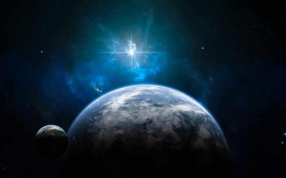 космос, land, звезды