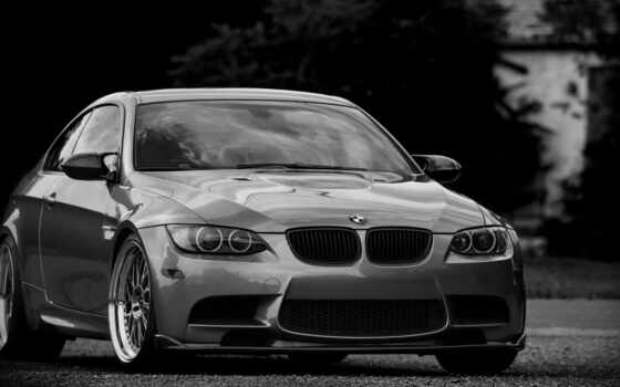 bmw, бмв, silvery, silver, coupe, wheels,