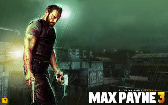 max, payne, rockstar Фон № 119396 разрешение 2560x1600