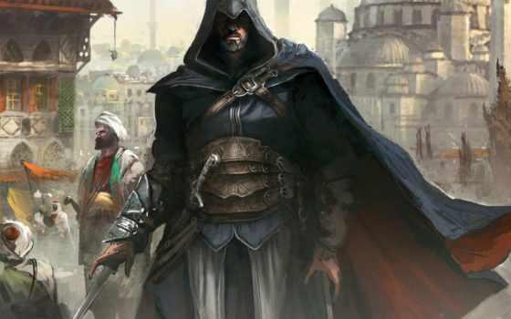 creed, assassin Фон № 6980 разрешение 1920x1080