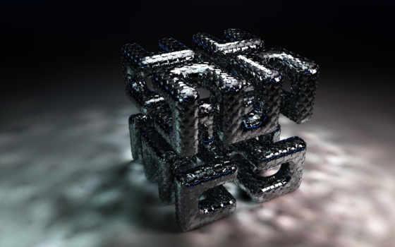 трехмерной, cube, графикой, maze, фона, картинок, gray, нравится, подборка, красивых,