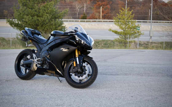 yamaha, yzf, bike, black, мотоцикл, supersport, kartinka,