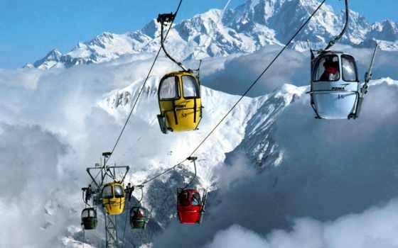 франции, курорты, горнолыжные