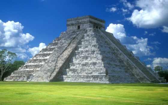messico, пирамида, фотографий