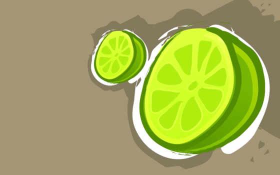 лайм, lemon, яркий, мята, зелёный, рисунок, browse,