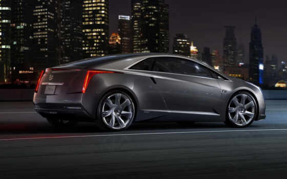 cadillac, electric, coupe, vehicle, extend, range, luxury, volt, ан, день