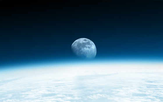 космос, луна Фон № 1985 разрешение 2560x1600
