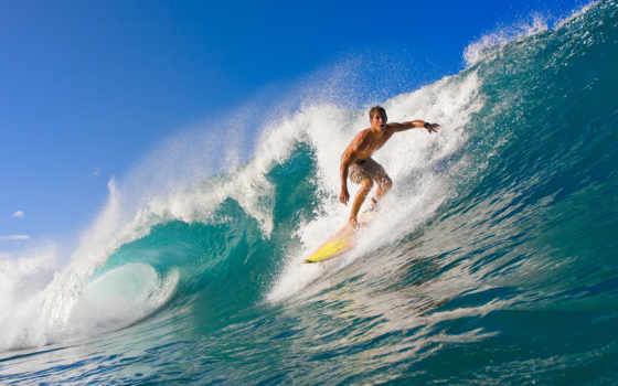 сёрфинг, океан