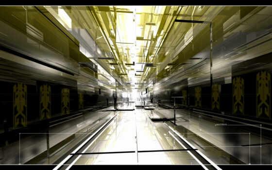 коридор, свет