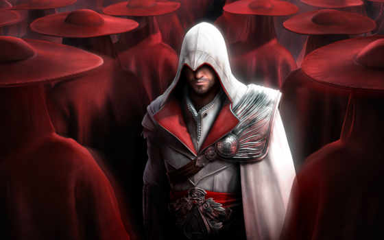 assassin, creed, brotherhood, крови, game, игры,