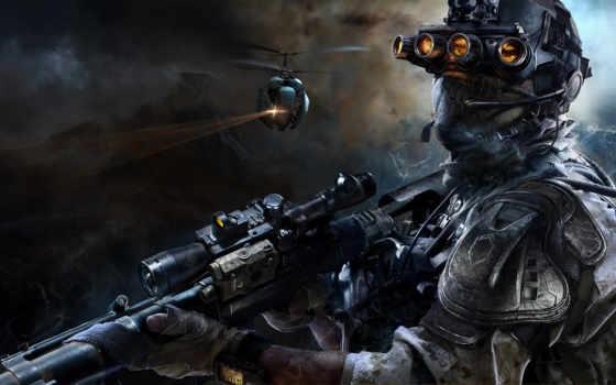 ghost, воин, снайпер, игры, games, shooter, блоги,