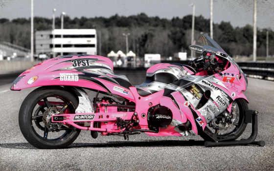 розовый, motorbikes, bike, мотоциклы, шпалери, компьютер, розовые, was,