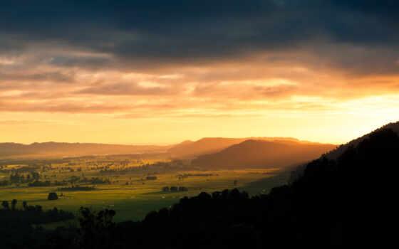 закат, зеландии, новой, картинка, that, you, ipad, рассветы, закаты, природа,