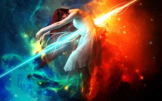космос, девушка, сценарий, lightning, рыцарь, maze, глаза, complexity, feat, ray