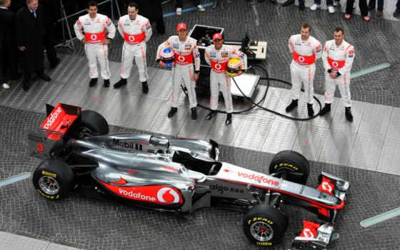 formula, car, mclaren