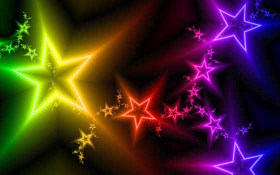 fondos, estrellas, pantalla, imágenes, descripción, colores, fotos, iris, arco, con,