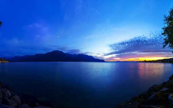 озеро, швейцария, geneva