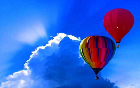 balloon, air, hot, небо, free, images, pixabay, balloons,