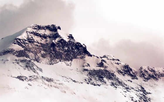 iphone, winter, mountains, горы, лавин, снег,
