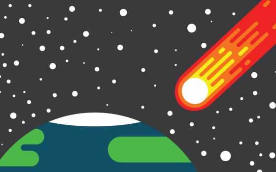 design, планета, комета