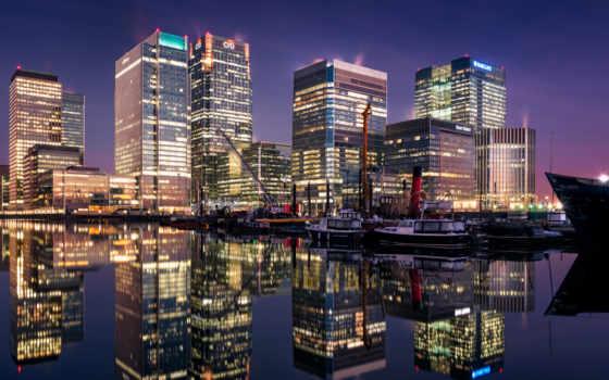 london, великобритания, город, док, kenerit, south, мост, ночь, телефон, планшетный