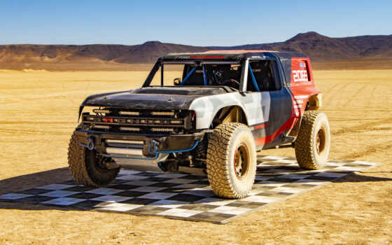 bronco, ford, race, prototype