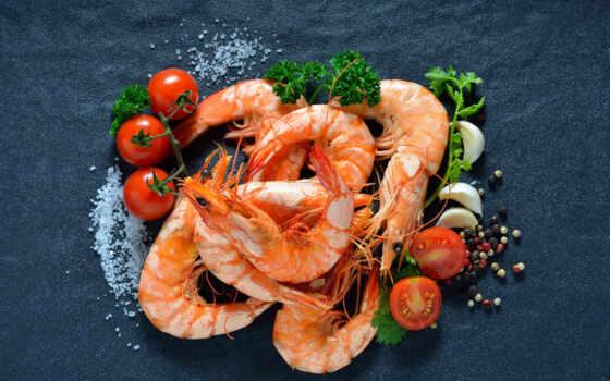 дары, shrimp, корзина, salt, серый, meal, tomato, перец, greenery, freeze
