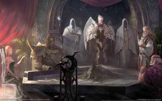 lineage, throne Фон № 11186 разрешение 1920x1200