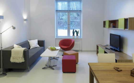 интерьер, dizain, квартир