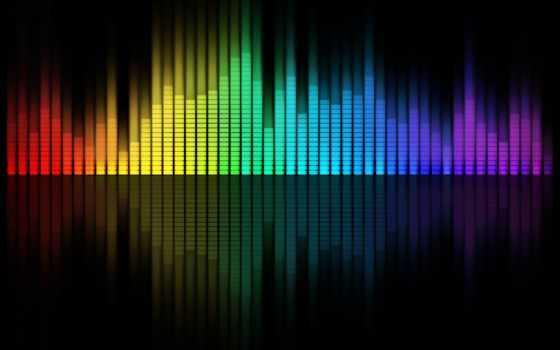 музыка, фон, эквалайзер