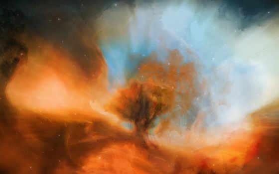 космос, nebula, без