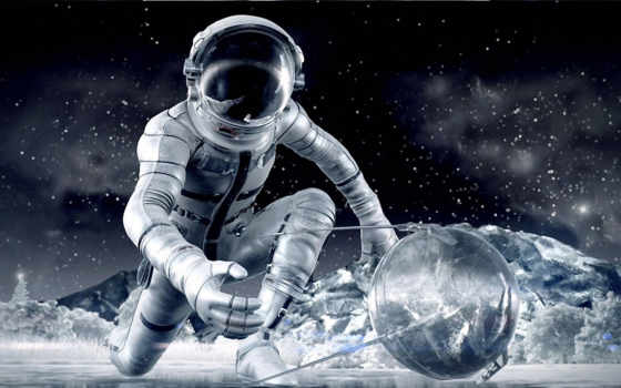 космосе, cosmos, космонавты