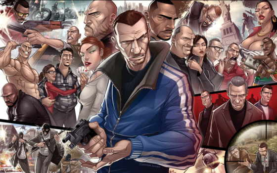 art, gta, bellic
