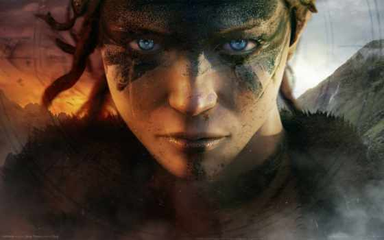 hellblade, theory, ninja, senua, sacrifice, девушка, you, trailer,