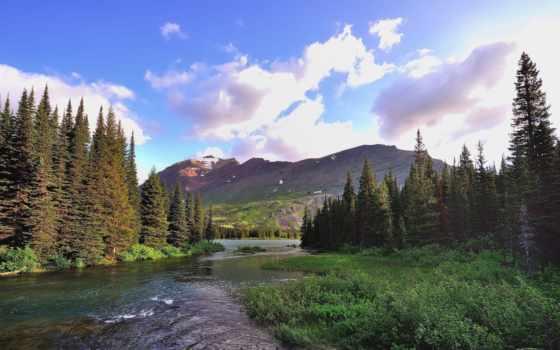 музыка, resimleri, медитация, manzara, gooollll, горы, река, лес, спать, страница,