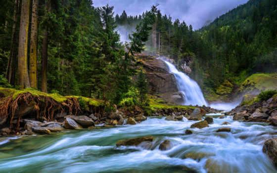 krimml, австрия, ache, salzburg, krimmler, река, waterfalls, cascadas, водопады, кримль,