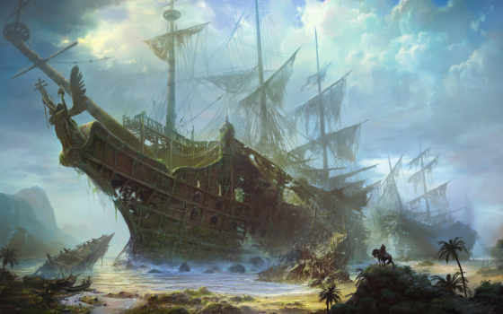 парусник, корабль