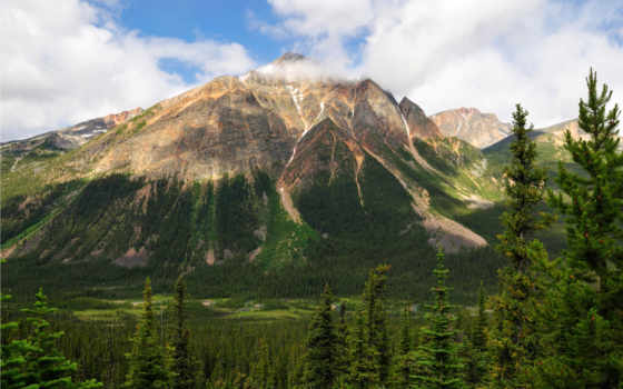 канада, горы, park