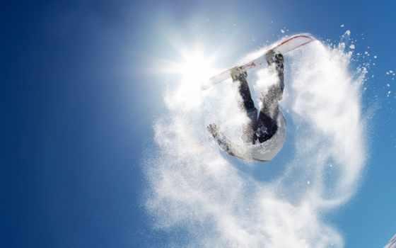 спорт, картинка, сноуборд