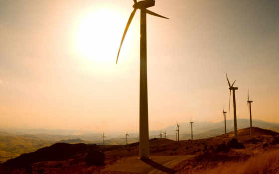 ветряные, крупнейшей, генераторы