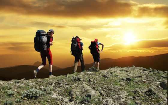 гора, hiking, climbing