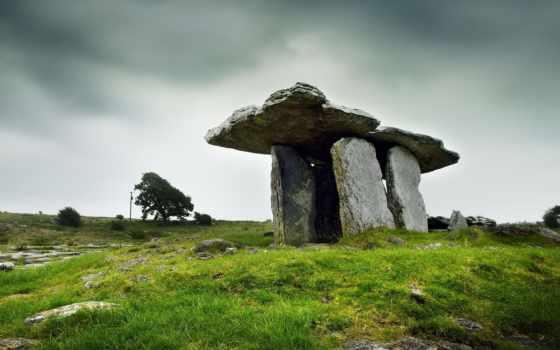 пейзажи -, ирландский, ireland, завораживающие, дневник, февр, янв, за, места, poulnabrone, дольмен,