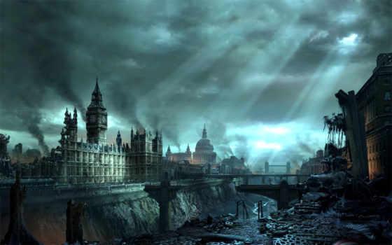 лондон, kıyamet