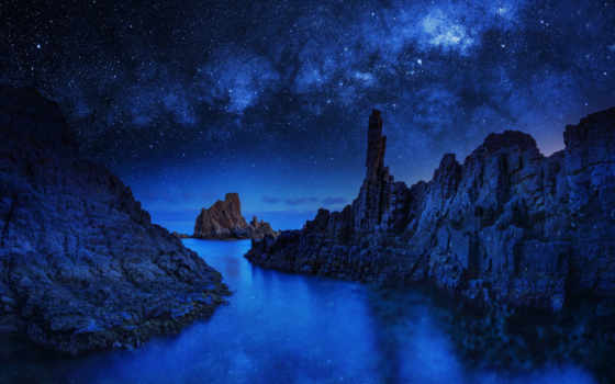 blue, pictures, rock