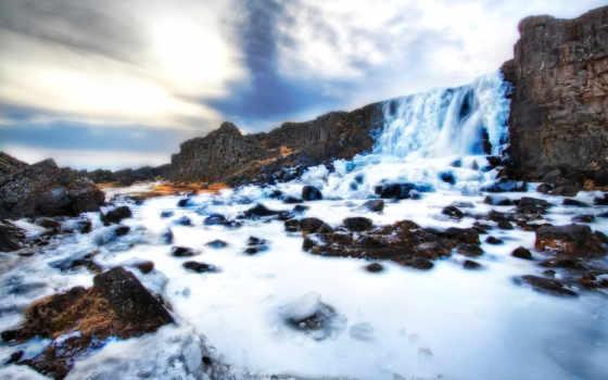 iceland, thingvellir, world, öxarárfoss, водопад, park, national, þingvellir, flickr,