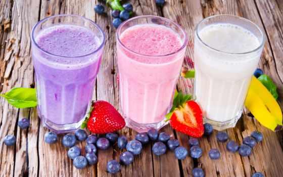 коктейли, молочный, коктейль, молочные, фруктовые, горячие, стоковое, напитки,