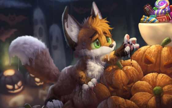 собака, другие, halloween, осторожно, bat, фокс, art, deviantart, animal, drawing